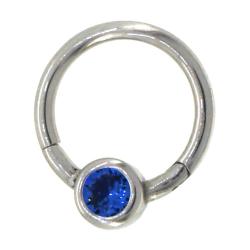 BCR clicker cristal bleu nuit 1.2mm acier
