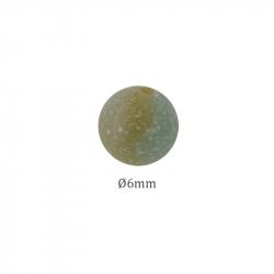 perle pierre jaspe clair en 6mm
