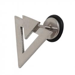 Faux plug triangle acier 1
