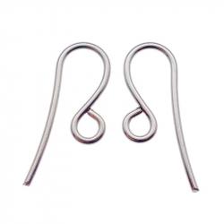 Crochet boucles d'oreilles n°1 en acier