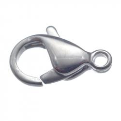 Fermoir mousqueton 12mm en acier