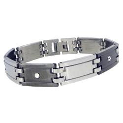 Bracelet acier Mathieu