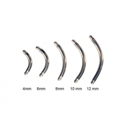 Barre courbée simple 1